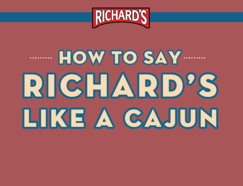 "Richard's ""How To Say It"""