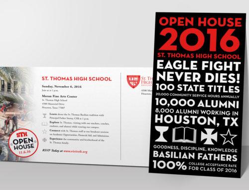 St. Thomas High School Postcard