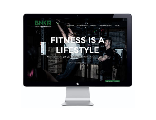 BNKR Crossfit Website