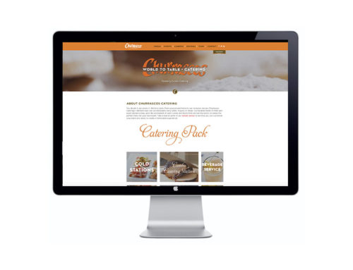 Churrascos Catering Website