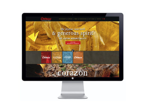 Churrascos Restaurant Group Website