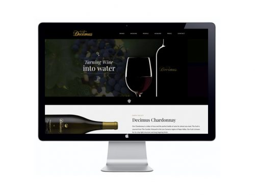 Decimus Wine Website