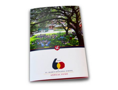 St. Mark's Episcopal School 60th Anniversary Brochure