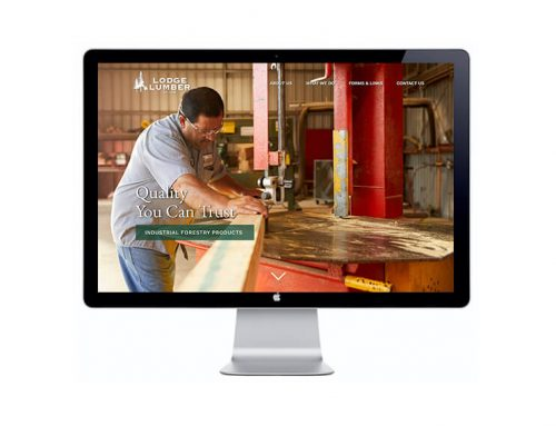 Lodge Lumber Website